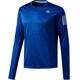 adidas Response LS Shirt Men blue night